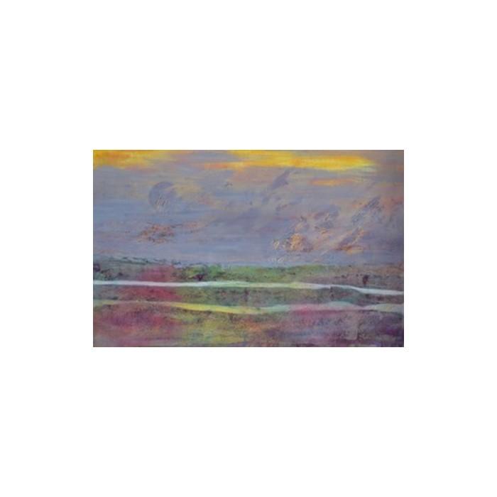 Tableaupeint à l'acrylique sur une toile musée par l'artiste peinte Fernand Serre.