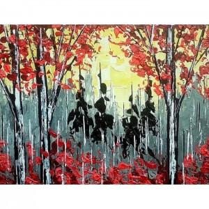 """Rouge Forêt 10.5""""x13.5"""""""